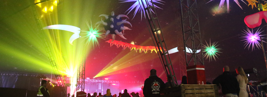The VIP Big Top at Tribfest, the world's biggest tribute band music festival
