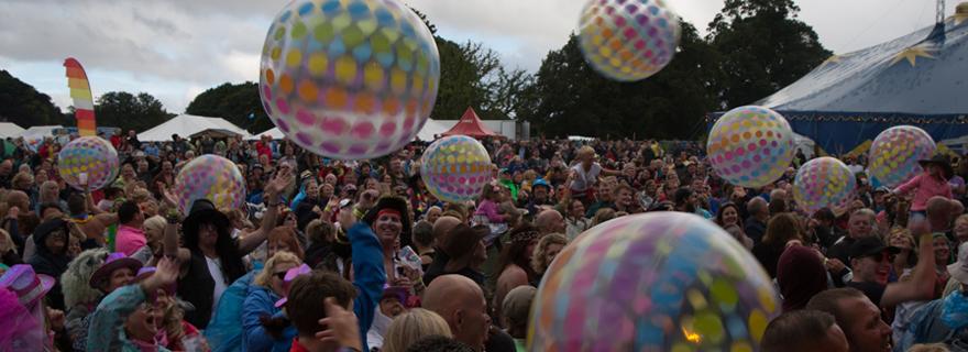 Tribfest Crowd